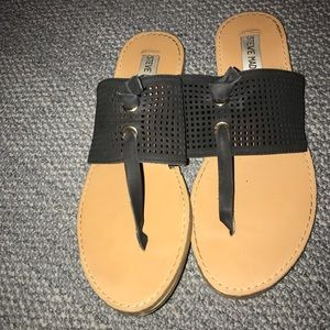 Cute black Steve Madden sandals